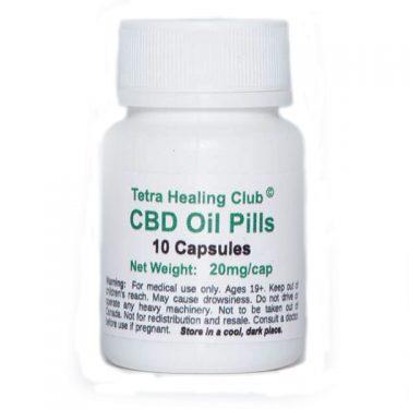 Tetra CBD Oil Pills